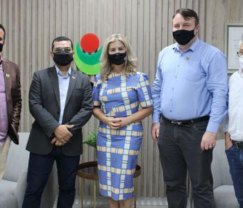 Secretário de Desenvolvimento Social do Estado visita Unesc e alinha possibilidade de parcerias