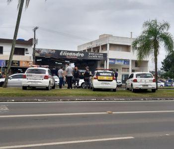 Força tarefa de Criciúma repete abordagem social em pessoas em situação de rua