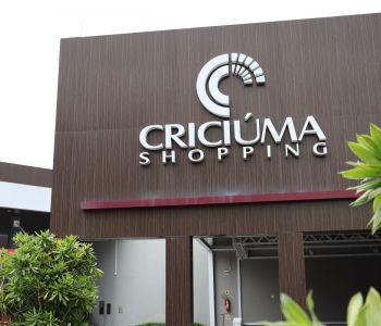 Criciúma Shopping fechado no fim de semana