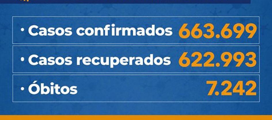 Coronavírus em SC: Estado confirma 663.699 casos, 622.993 ...