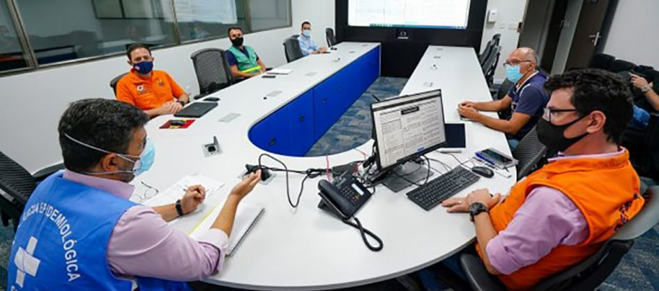 Coronavírus em SC: Reunião define ações de fiscalizaç�...