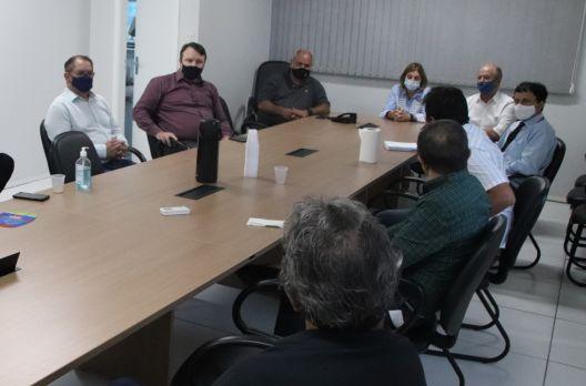 Câmara de Criciúma recebe representantes da Otto Capital