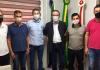 Gaiola recebe deputado Hélio Costa e busca apoio para infraestrutura