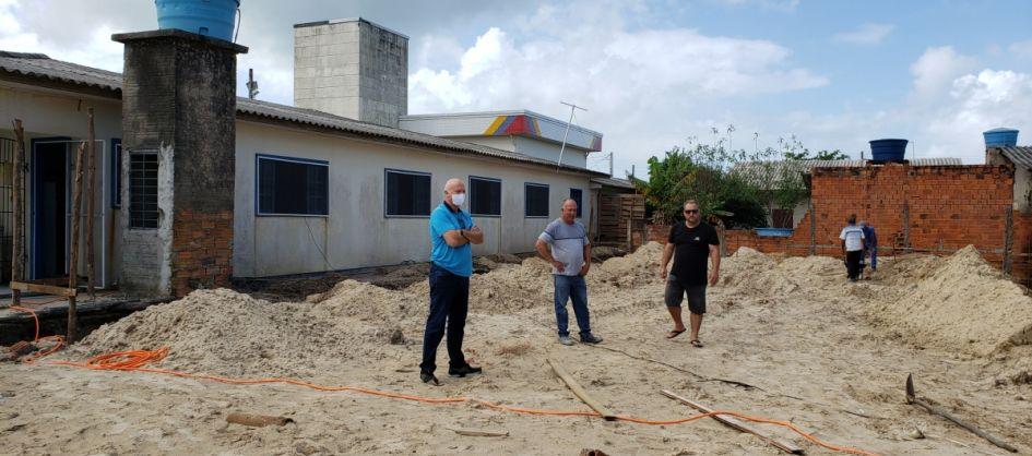 Arroio do Silva inicia construção do novo refeitório da ...
