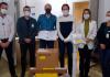 Prefeito realizou entrega de respirador ao Hospital Regional de Araranguá